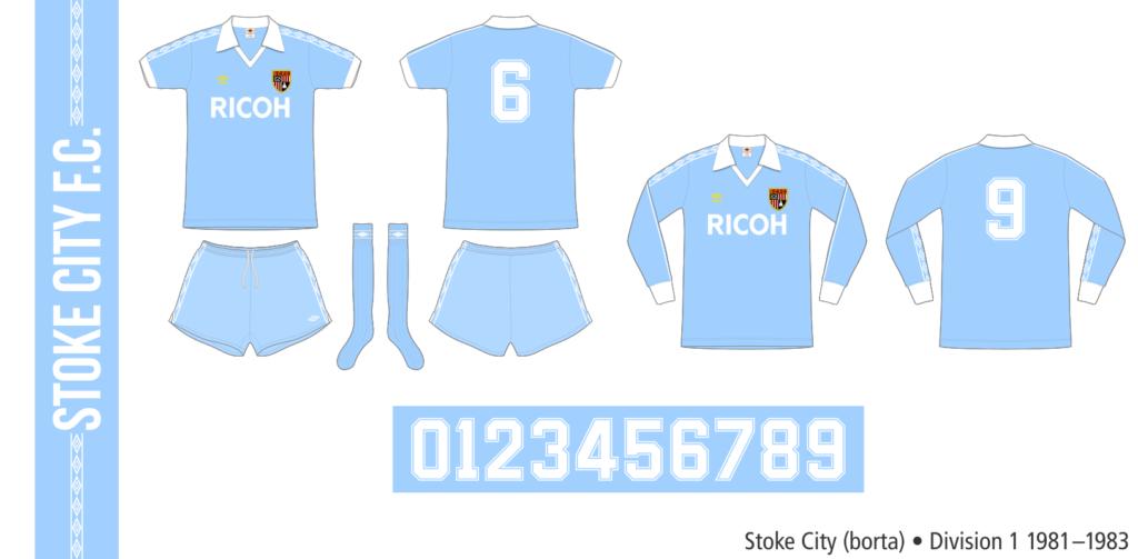 Stoke City 1981–1983 (borta)