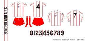 Sunderland 1981–1983 (hemma)