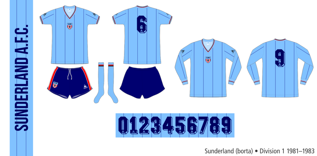 Sunderland 1981–1983 (borta)
