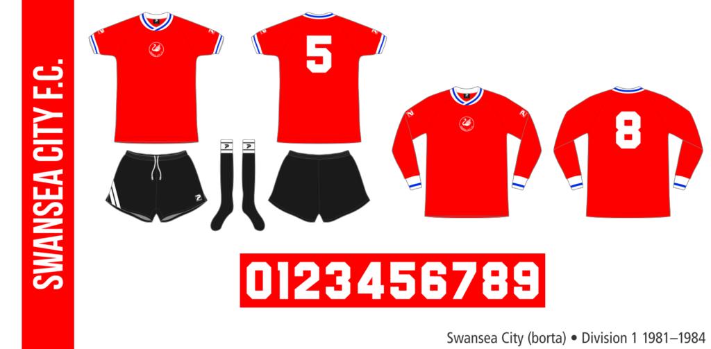 Swansea City 1981–1984 (borta)
