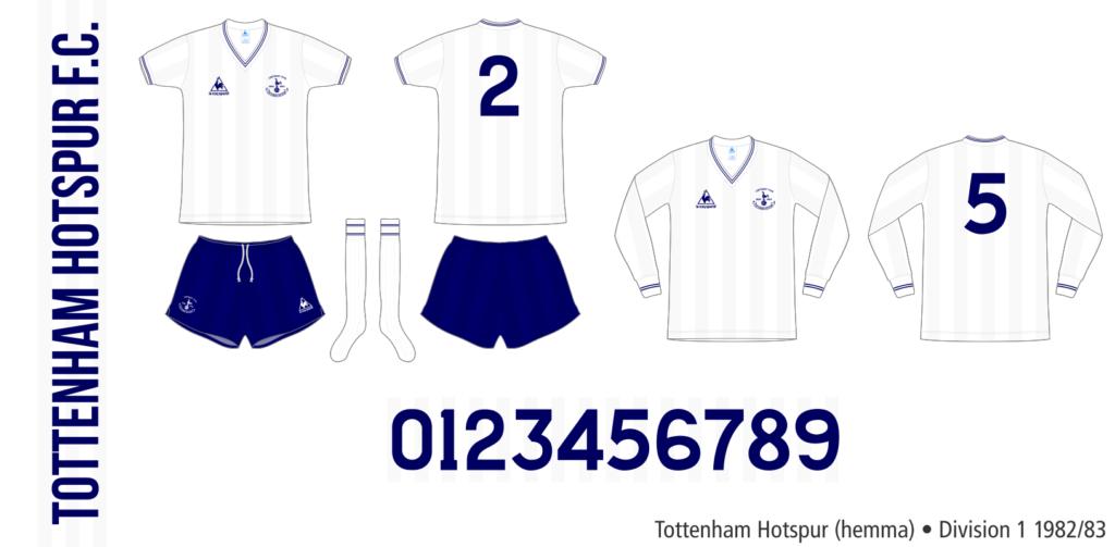 Tottenham Hotspur 1982/83 (hemma)