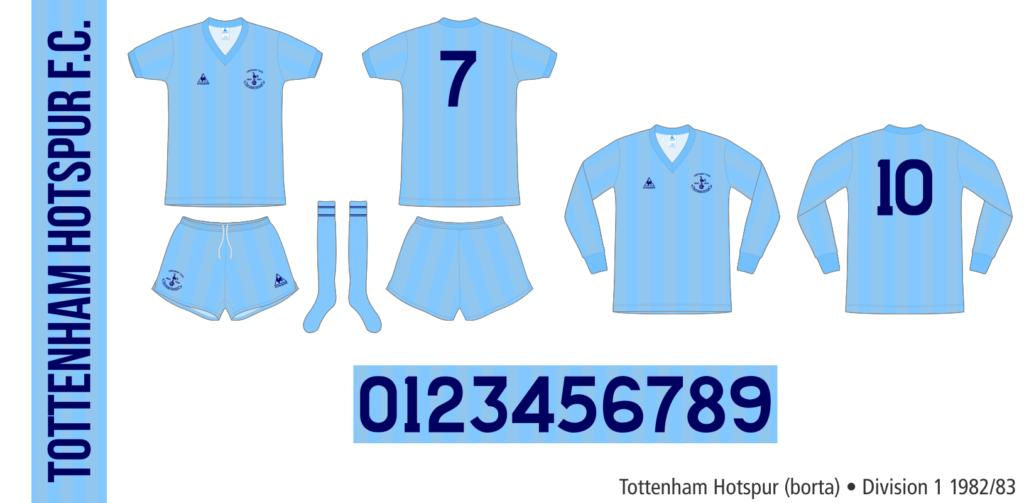 Tottenham Hotspur 1982/83 (borrta)