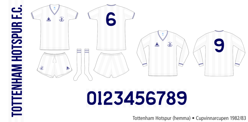 Tottenham Hotspur 1982/83 (hemma, Cupvinnarcupen)