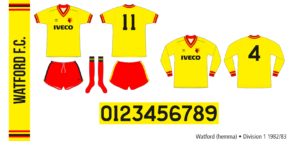 Watford 1982/83 (hemma)