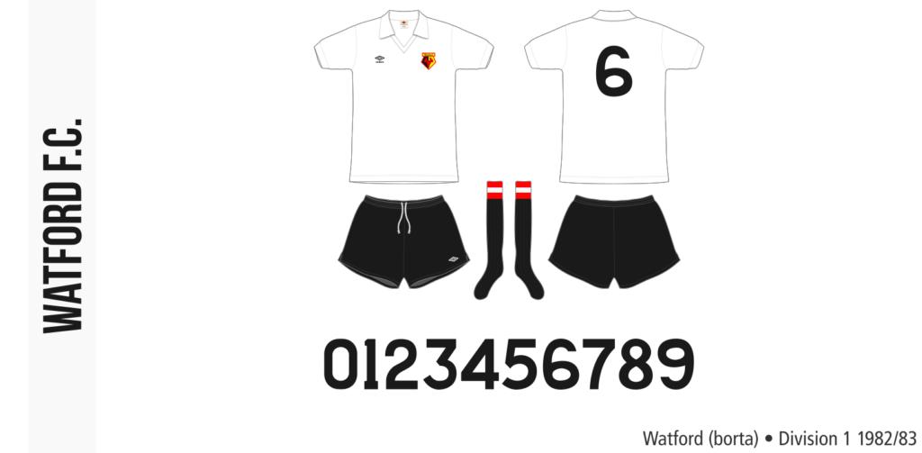 Watford 1982/83 (borta)