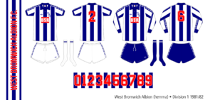 West Bromwich Albion 1981/82 (hemma)