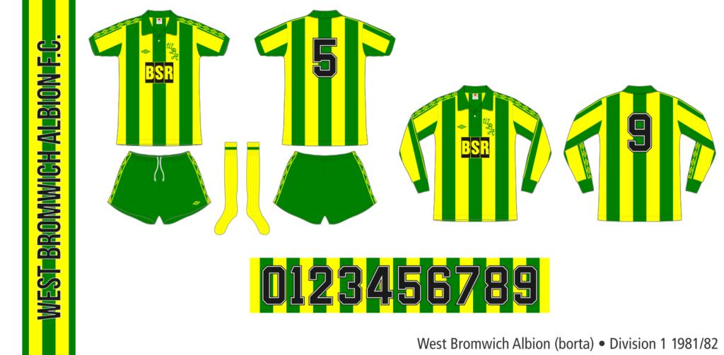 West Bromwich Albion 1981/82 (borta)
