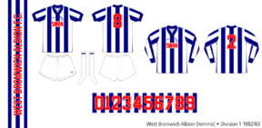 West Bromwich Albion 1982/83 (hemma)
