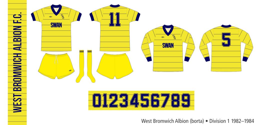 West Bromwich Albion 1982/83 (borta)