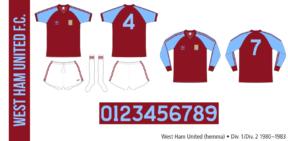 West Ham United 1980–1983 (hemma)