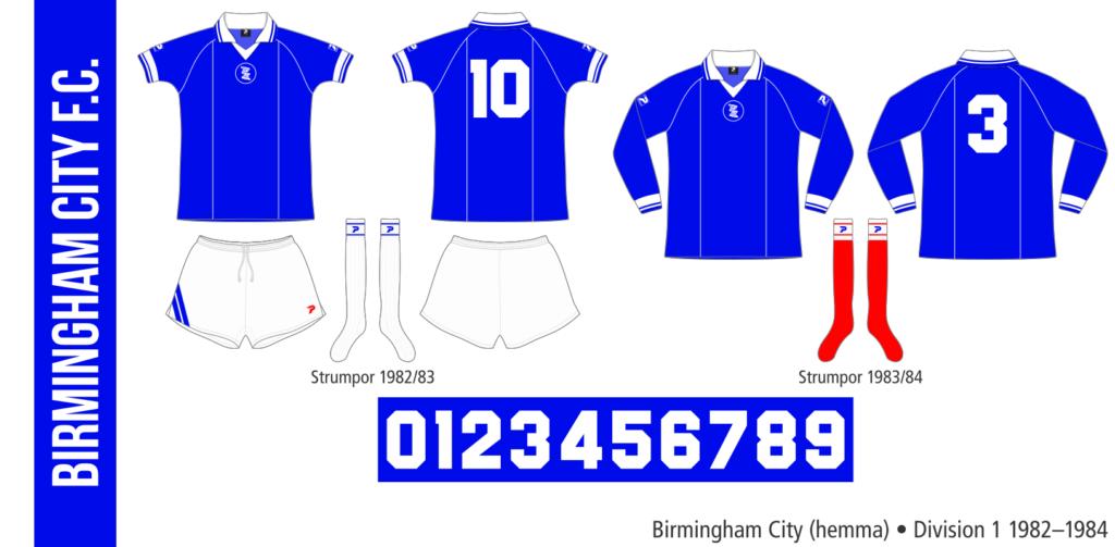 Birmingham City 1982–1984 (hemma)