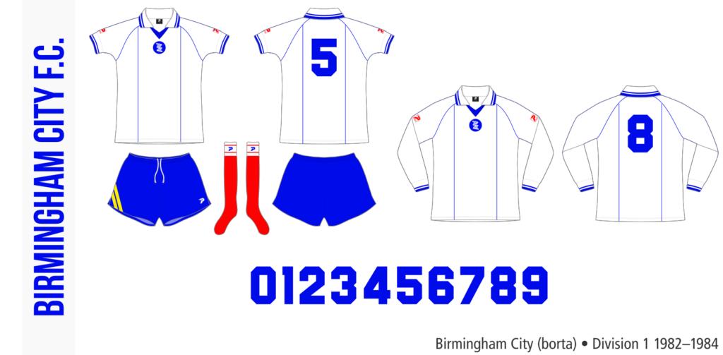 Birmingham City 1982–1984 (borta)