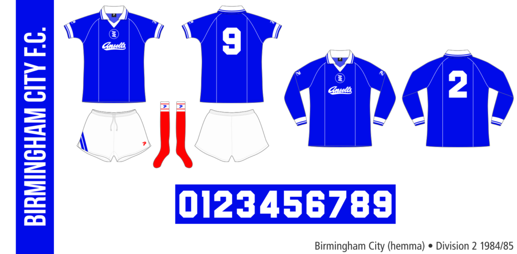 Birmingham City 1984/85 (hemma)