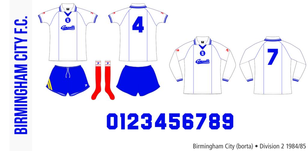Birmingham City 1984/85 (borta)