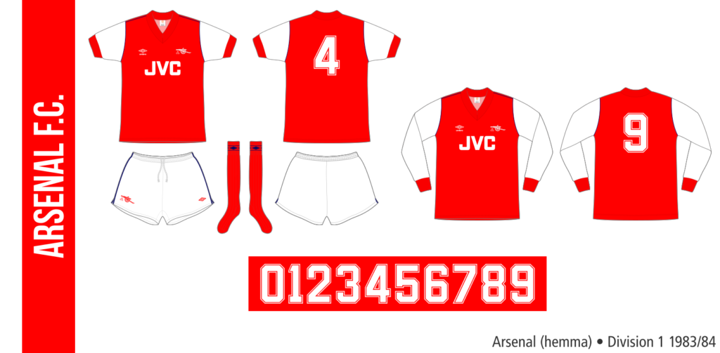 Arsenal 1983/84 (hemma)