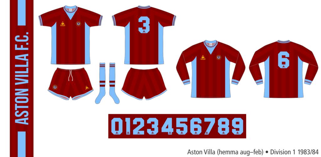 Aston Villa 1983/84 (hemma augusti–februari)