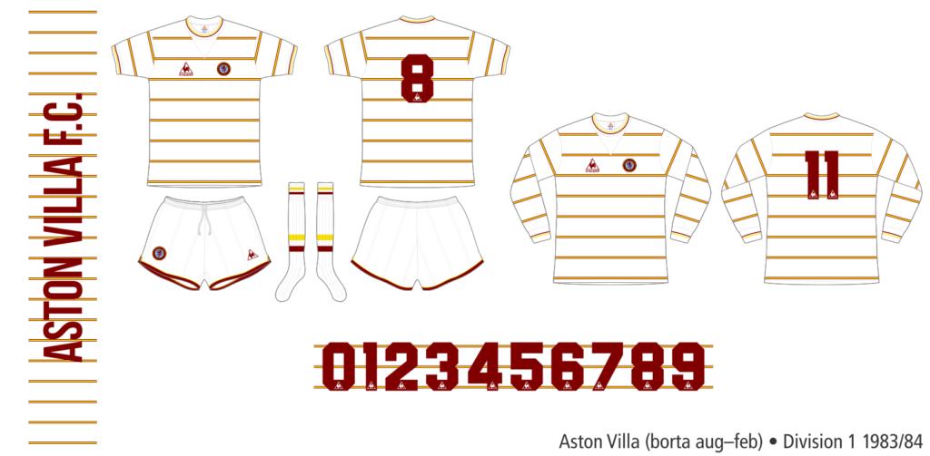 Aston Villa 1983/84 (borta augusti–februari)