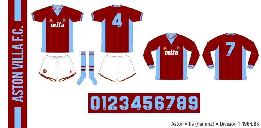 Aston Villa 1984/85 (hemma)