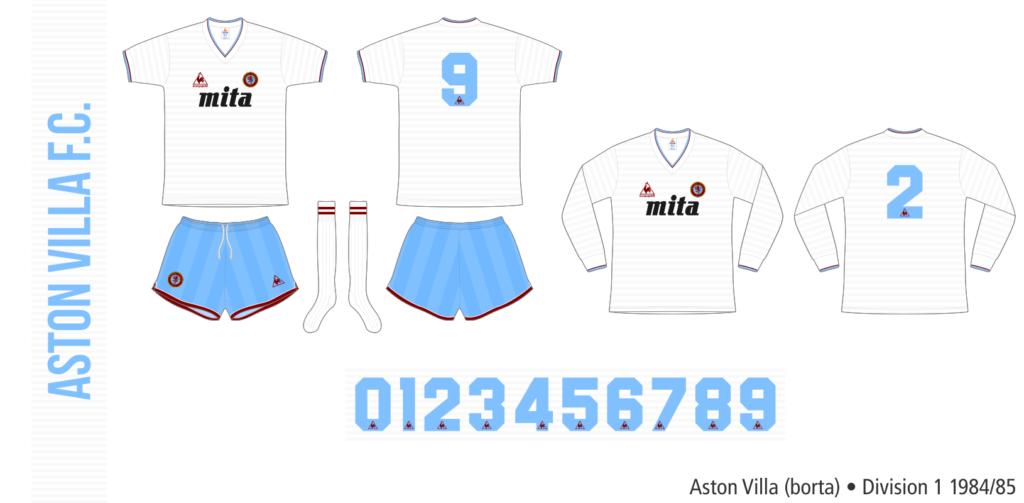 Aston Villa 1984/85 (borta)