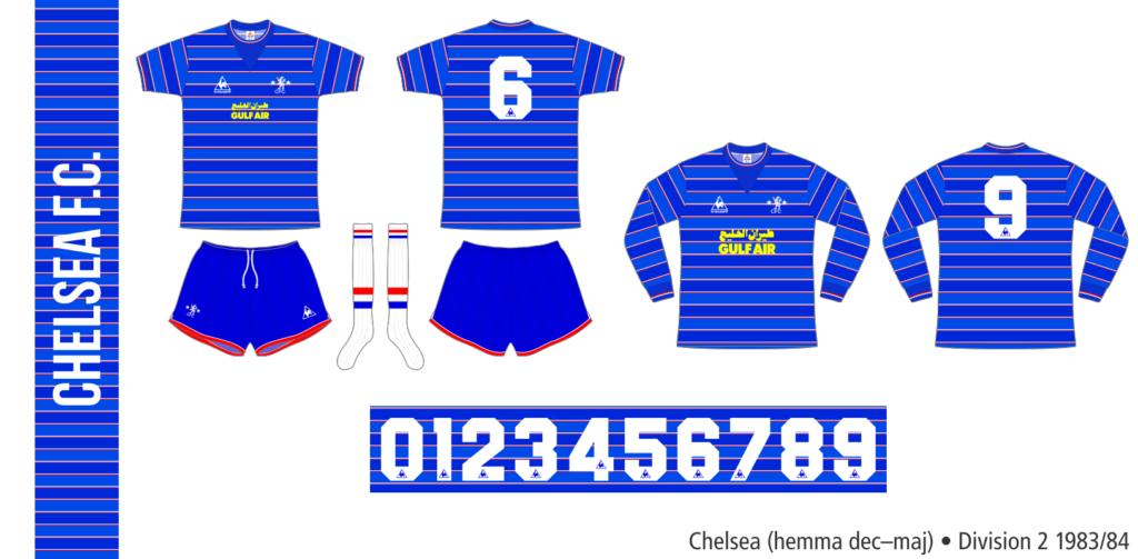 Chelsea 1983/84 (hemma december–maj)