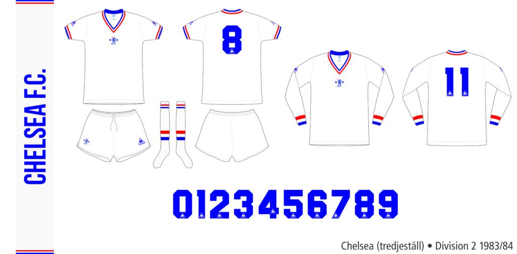 Chelsea 1983/84 (tredjeställ)