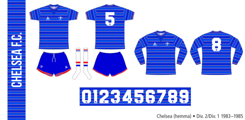 Chelsea 1983–1985 (hemma)