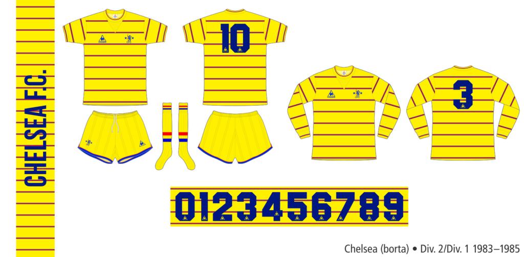 Chelsea 1983–1985 (borta)