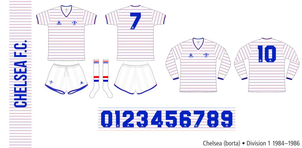 Chelsea 1984–1986 (borta)