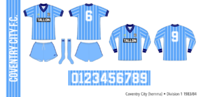 Coventry City 1983/84 (hemma)