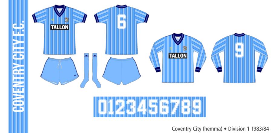 Coventry City 1983/84 (hemma)