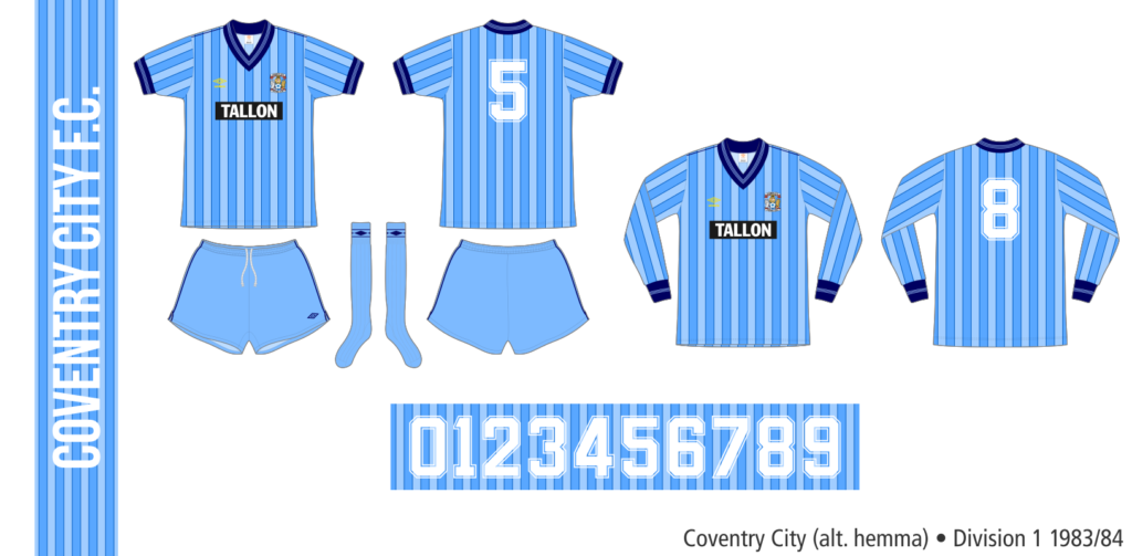 Coventry City 1983/84 (alternativ hemma)