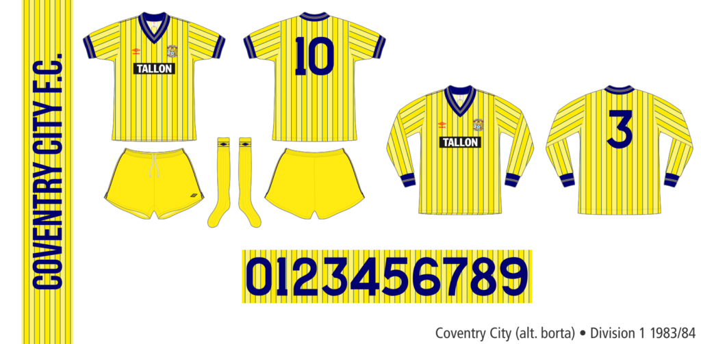 Coventry City 1983/84 (alternativ borta)