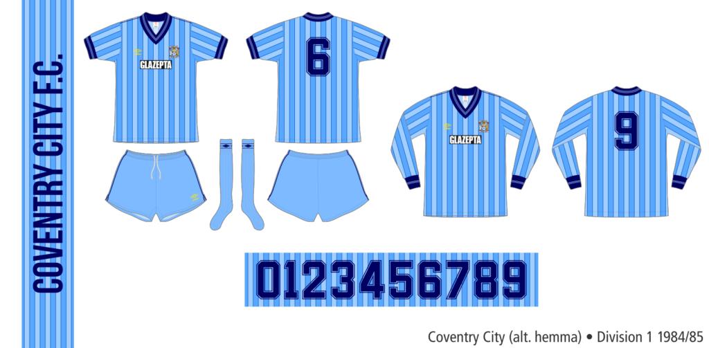 Coventry City 1984/85 (alternativ hemma)
