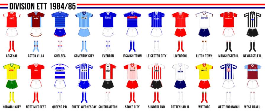 Engelska division ett 1984/85