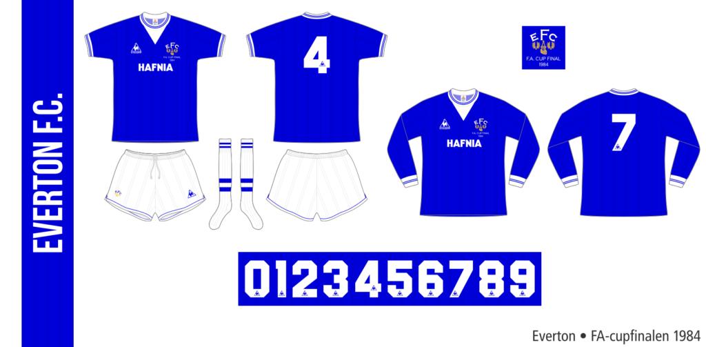 Everton 1983/84 (FA-cupfinalen)