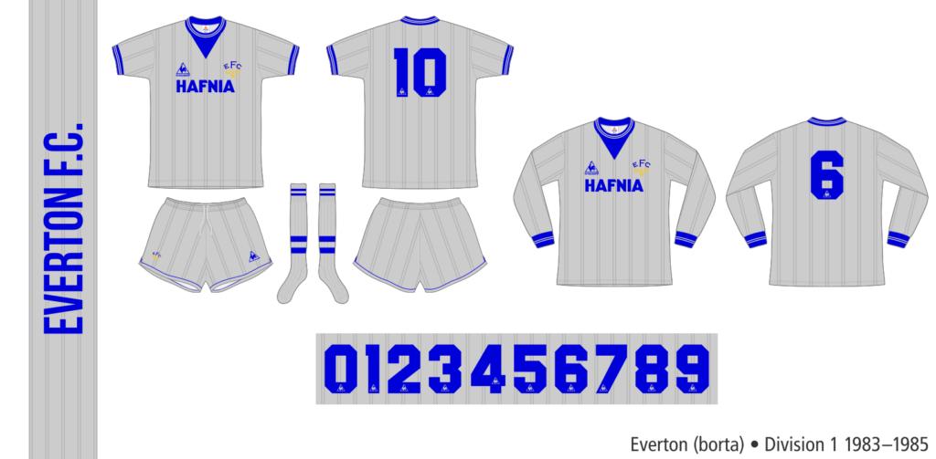 Everton 1983–1985 (borta)