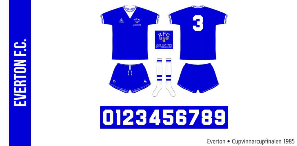 Everton 1984/85 (Cupvinnarcupfinalen)
