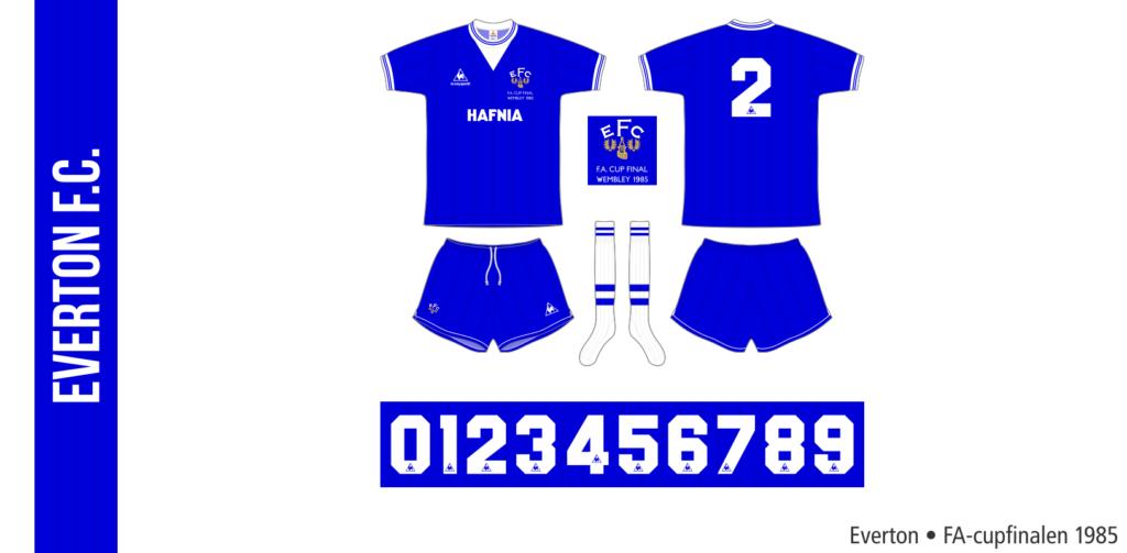 Everton 1984/85 (FA-cupfinalen)