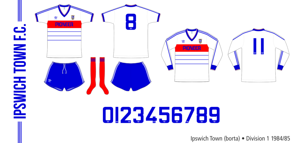 Ipswich Town 1984/85 (borta)