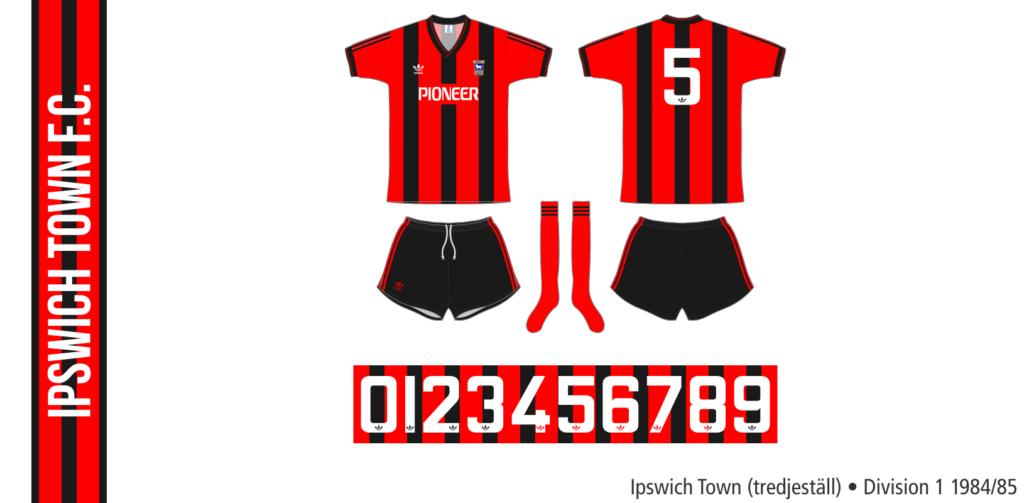 Ipswich Town 1984/85 (tredjeställ)