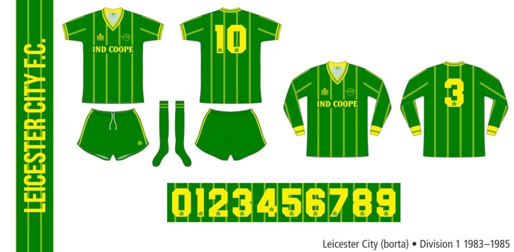 Leicester City 1983–1985 (borta)