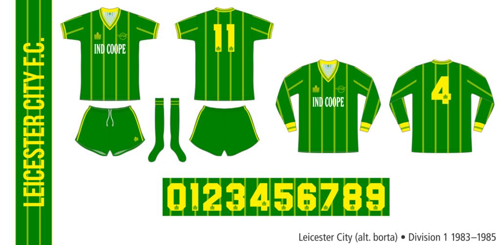 Leicester City 1983–1985 (alternativ borta)