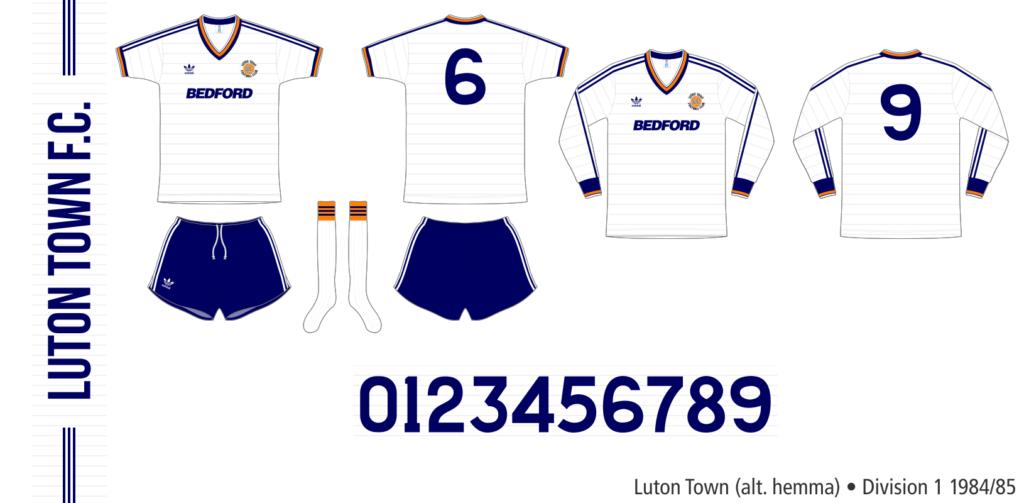 Luton Town 1984/85 (alternativ hemma)