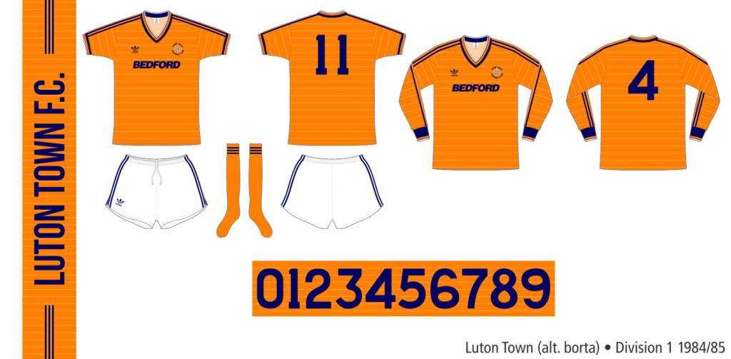 Luton Town 1984/85 (alternativ borta)