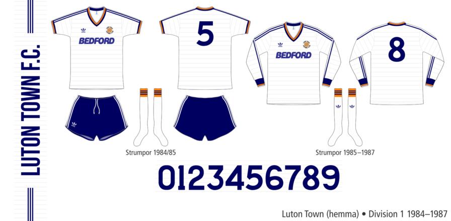 Luton Town 1984–1987 (hemma)