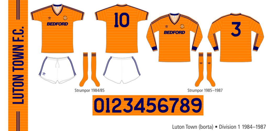 Luton Town 1984–1987 (borta)