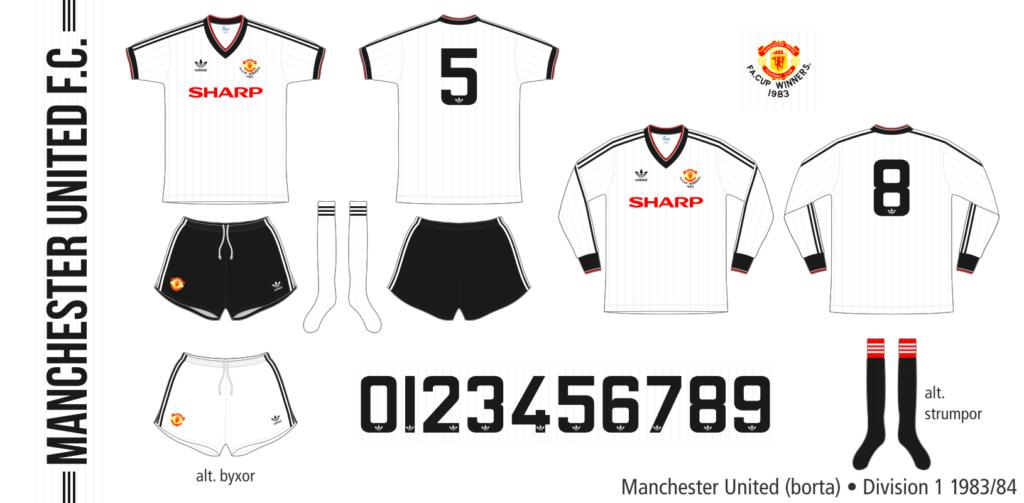 Manchester United 1983/84 (borta)