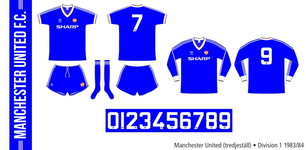 Manchester United 1983/84 (tredjeställ)