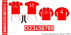 Manchester United 1984/85 (hemma)