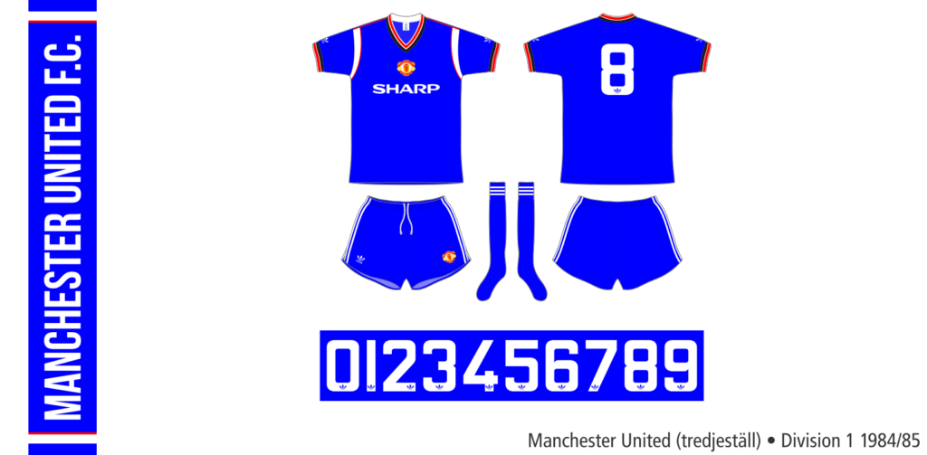 Manchester United 1984/85 (tredjeställ)